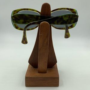 Accessories - Vintage Green Tortoise Oval Sunglasses Frames